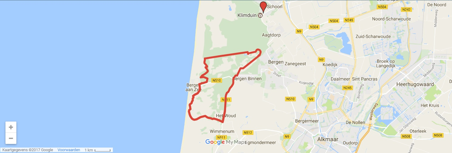 Mountainbike huren PWN-gebied