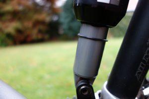 """O-ring achterschokbreker voor bepalen """"Sag"""" achterschokbreker mountainbike"""