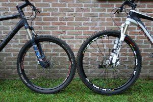 29 inch en 26 inch mountainbike huren