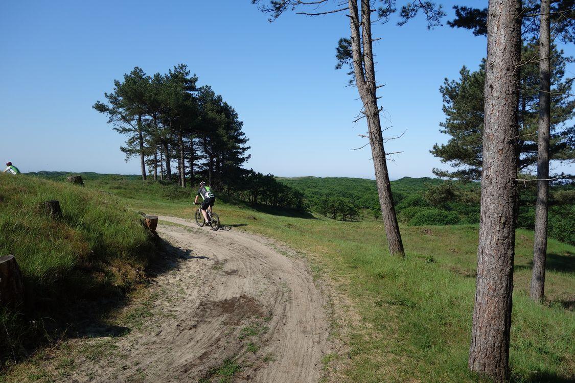 PWN mountainbike huren vrij uitzicht